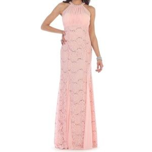 Blush Prom Formal Dress